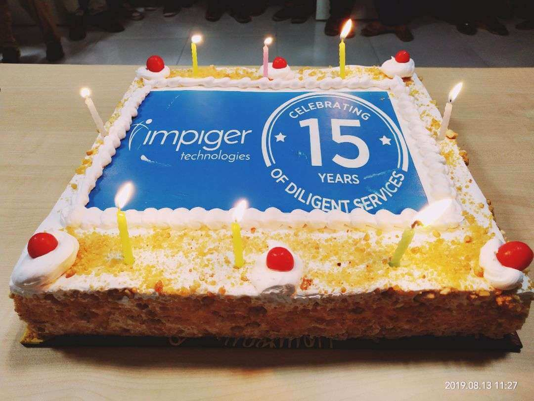 Impiger 15th Year Celebrations