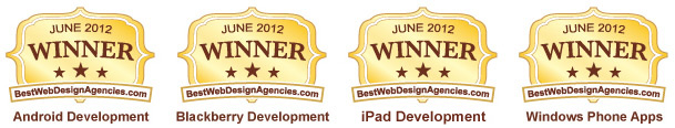 Ranked Among Top 10 iPhone Development Companies