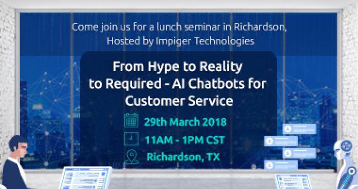 Impiger Lunch Learn, Mar 29 - 2018