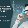 Tech Trends Predictions For 2019